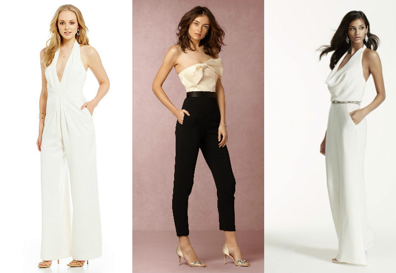 11 chic AND affordable wedding jumpsuits — because yes you can wear pants on your big day