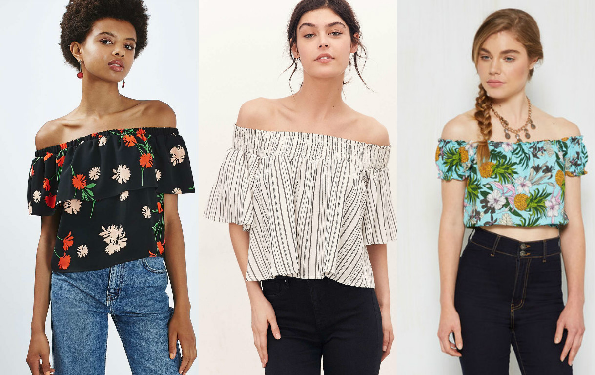 11 off-the-shoulder tops you need to own to complete your summer wardrobe