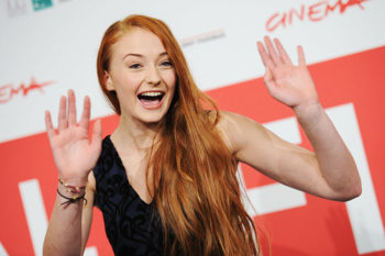 Sophie Turner just shared the trippiest picture of herself in Electric Ladyland