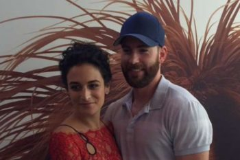 We are officially the biggest fans of adorable couple Chris Evans and Jenny Slate