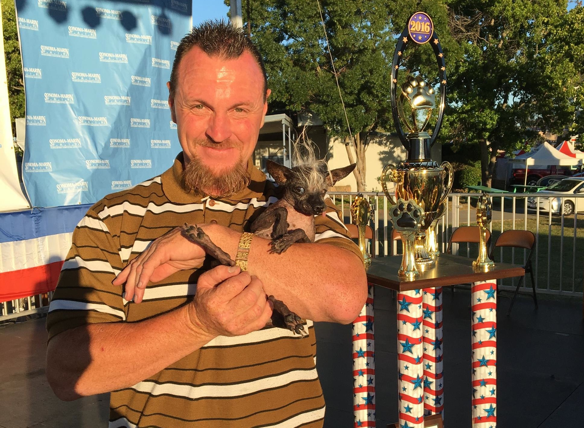 The World's Ugliest Dog has been crowned and we're in love