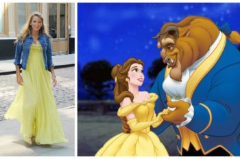 Blake Lively compares herself to BOTH Beauty and the Beast and we're laughing forever