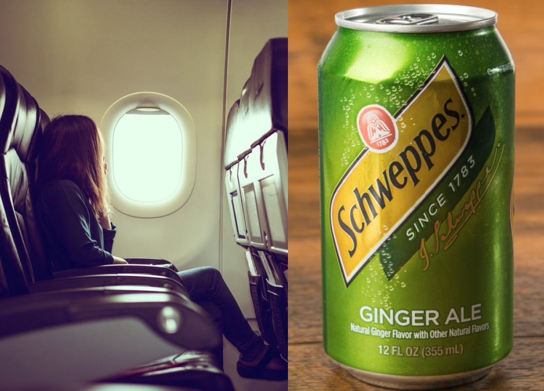 This is why you crave ginger ale when you're on an airplane