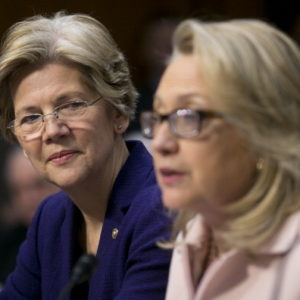 People are getting excited about a possible Hillary Clinton-Elizabeth Warren ticket