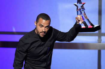 Jesse Williams won the Humanitarian Award at the BET Awards, and his speech blew us all away