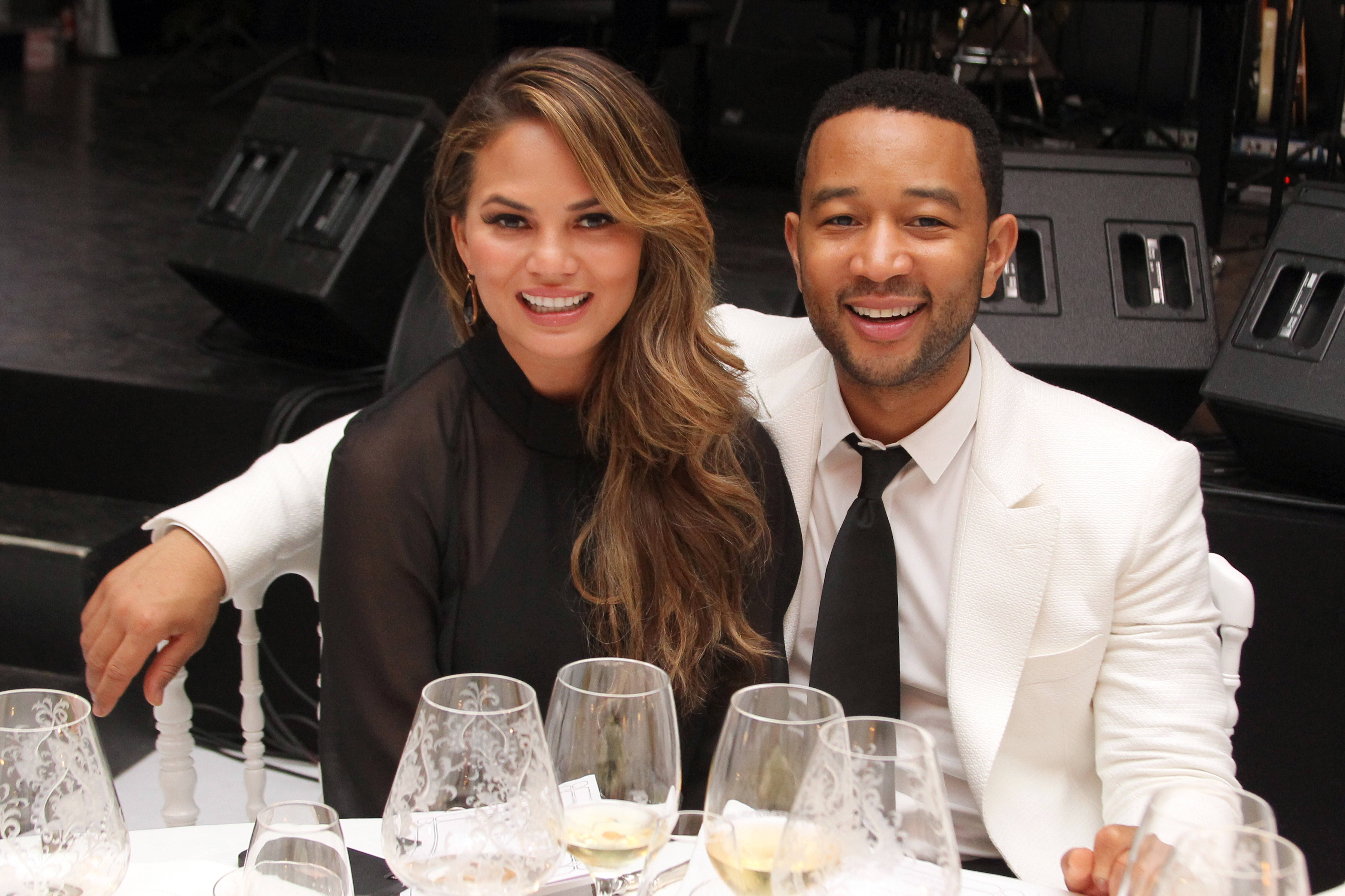 Chrissy Teigen and John Legend's date night had a special guest: Chrissy's mom