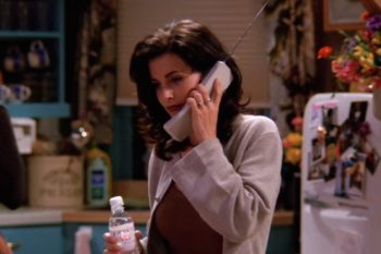 """You probably never noticed this weird detail in Monica's apartment in """"Friends"""""""