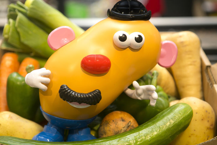Meet Wonky Mr. Potato Head, a toy like you've never seen before