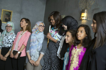 Day three: Speaking about girls' education with Freida Pinto and Meryl Streep in Morocco
