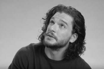 "Kit Harington had a black eye when he auditioned for ""Game of Thrones"" — for a noble reason"