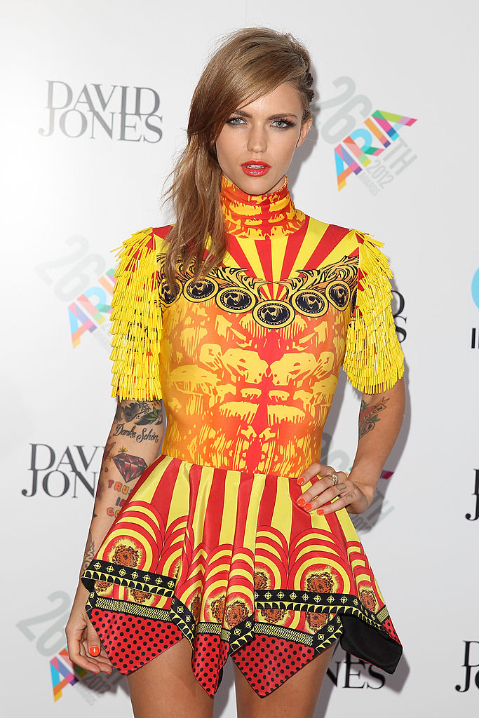 These Throwback Photos Of Ruby Rose With Long Hair Are