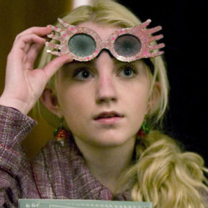 Luna Lovegood made a rare red carpet appearance and totally nailed it