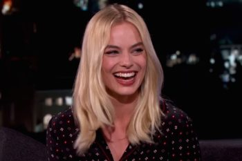 "Jimmy Kimmel just shared the ""most embarrassing"" photo of Margot Robbie, and we're LOLing"