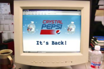 The wait is over! You can actually buy Crystal Pepsi this summer