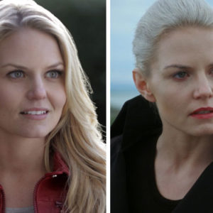 "This is what the characters of ""Once Upon a Time"" looked like in the first season vs. the last"