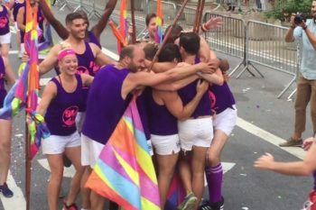 We're freaking out over this incredibly heartwarming choreographed proposal at Pride