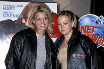 Melissa Joan Hart is driving us crazy with this Britney #tbt