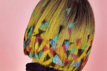 This amazing graffiti hair is the technicolor trend of our dreams