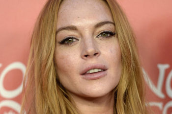 Lindsay Lohan looked like a '90s girl's dream on her first red carpet