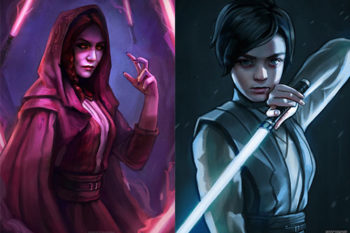 "This artist has imagined ""Game of Thrones"" and ""Star Wars"" exist in the same universe, and the results are amazing"