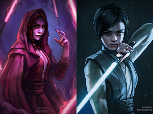 """This artist has imagined """"Game of Thrones"""" and """"Star Wars"""" exist in the same universe, and the results are amazing"""