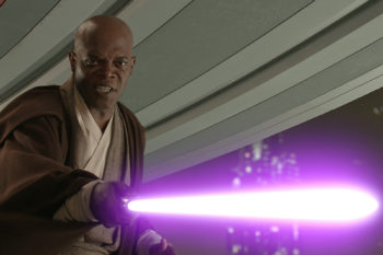 "Samuel L. Jackson got George Lucas to believe his insane ""Star Wars"" fan theory"