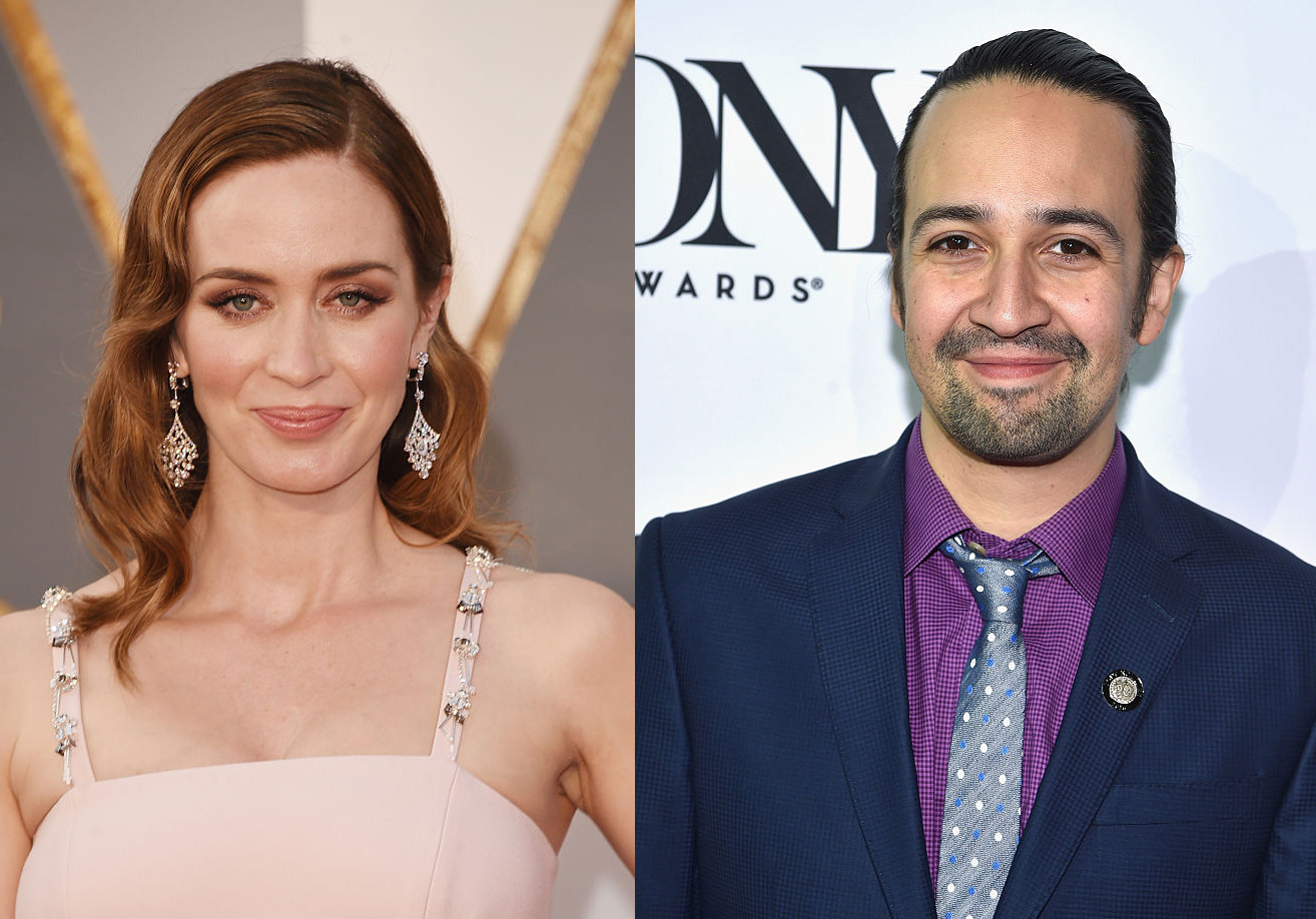 "Stop everything, because Emily Blunt and Lin-Manuel Miranda are starring in a ""Mary Poppins"" sequel"