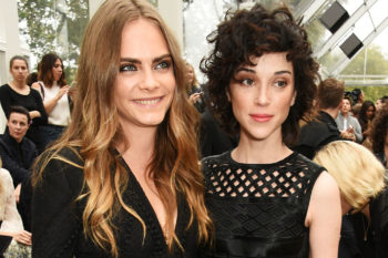 Cara Delevingne just showed her love for St. Vincent on social media