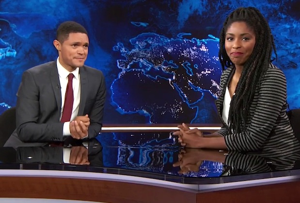 "You need to see Jessica Williams' tearful goodbye to ""The Daily Show"""