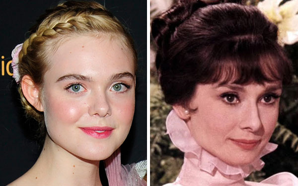 """Elle Fanning looked like a modern day Audrey Hepburn at the """"Neon Demon"""" premiere"""