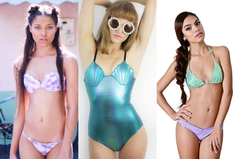 This mermaid-inspired swimsuit line is EVERYTHING