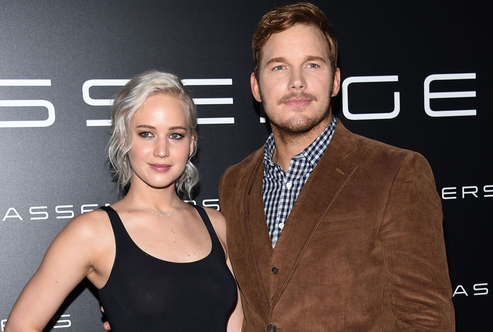 Are we EVER going to get to see the Jennifer Lawrence/Chris Pratt sci-fi movie?