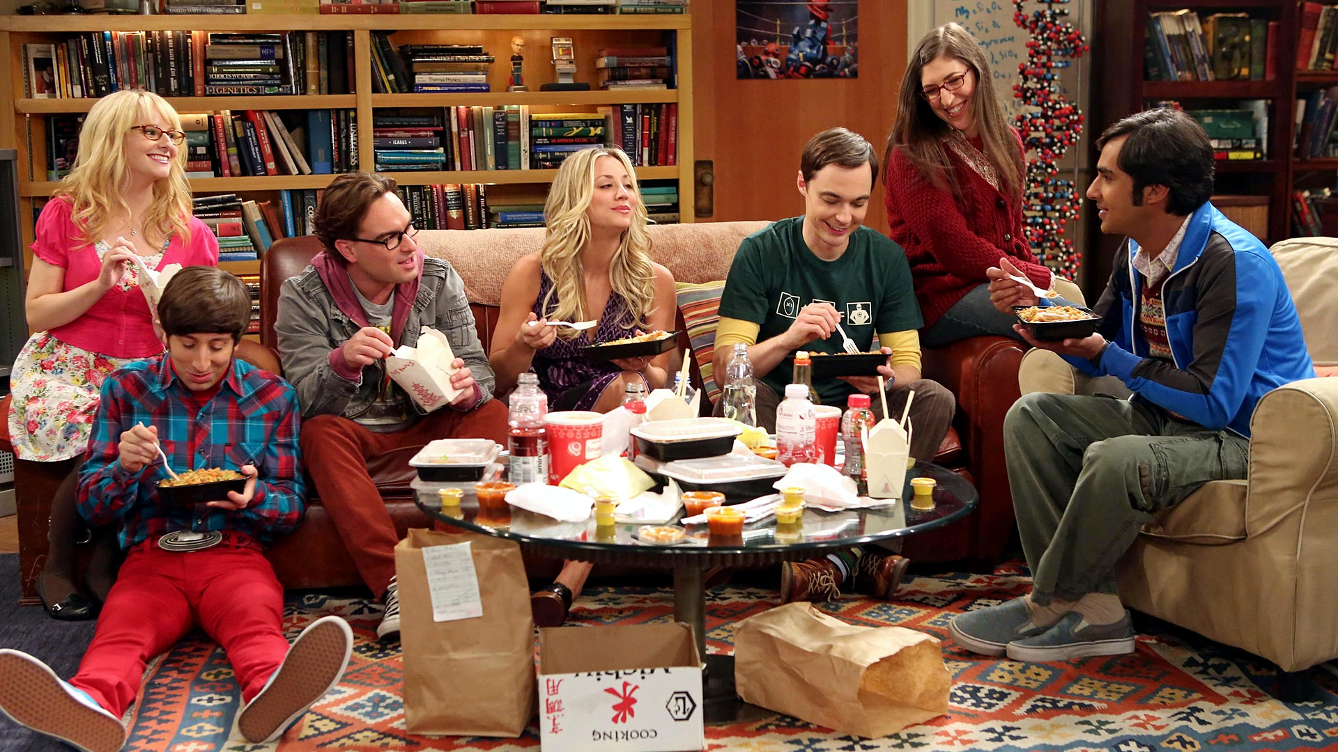 "Looks like we might get more seasons ""The Big Bang Theory"" than we thought"