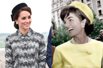 Kate Middleton is channeling major Jackie O. vibes with her latest look