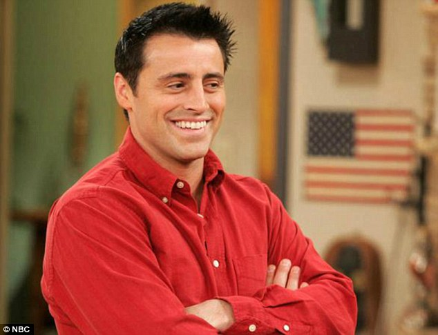 "We all totally missed this ""Friends"" moment where Joey gets the giggles"