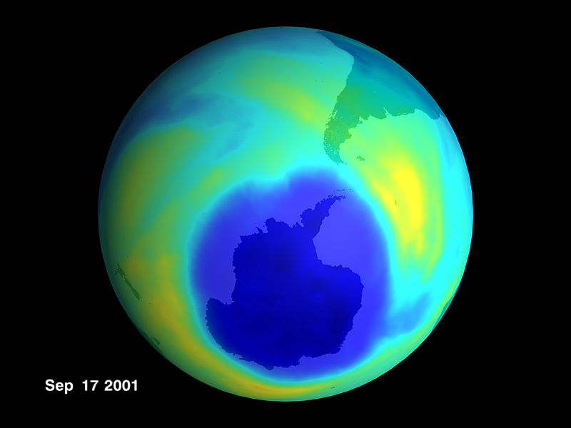 There might actually be some good news about the ozone layer