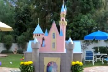 This grandfather loves his grandkids so much, he built them a miniature Disneyland