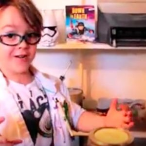 We can all learn something about tornadoes from this 5-year-old scientist
