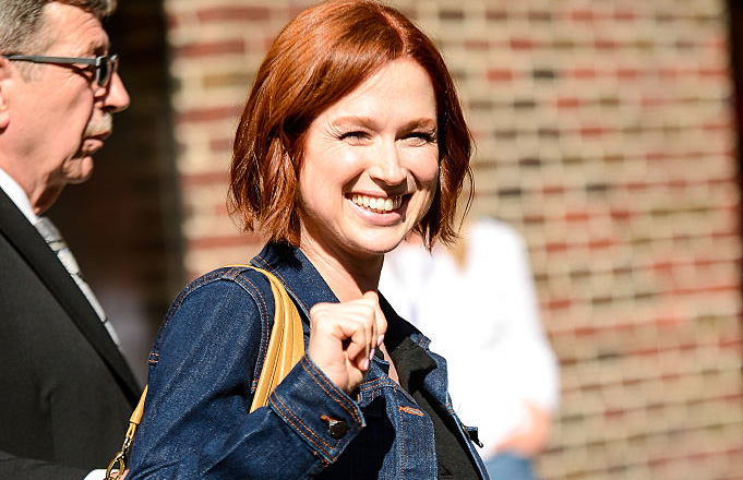 Ellie Kemper would love strangers to stop touching her baby bump without permission