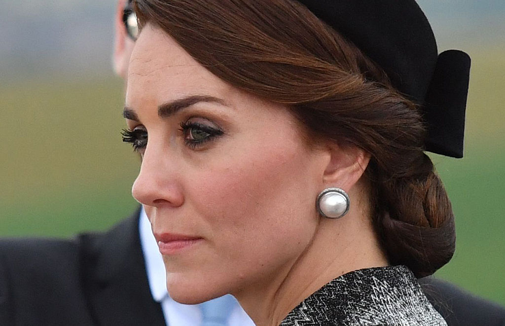 Can you spot the latest hair trend Kate Middleton just started?