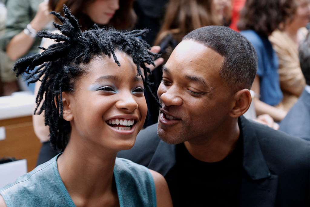 Will and Willow Smith are the definition of father-daughter goals at Chanel fashion show
