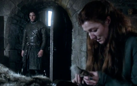 "This detail about Catelyn Stark and Jon Snow from the first ""Game of Thrones"" book will break your heart"