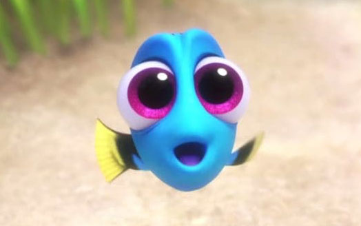 """This """"Finding Dory"""" eye makeup tutorial will inspire you for Halloween"""