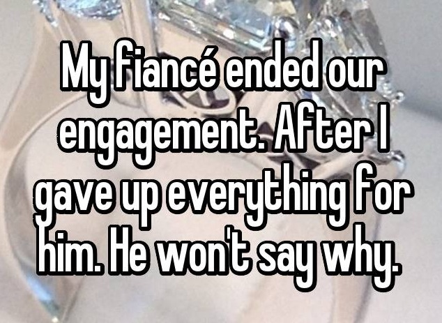 20 couples confess what it's like to call off their engagement