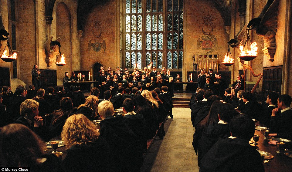 hogwarts castle great hall - photo #19