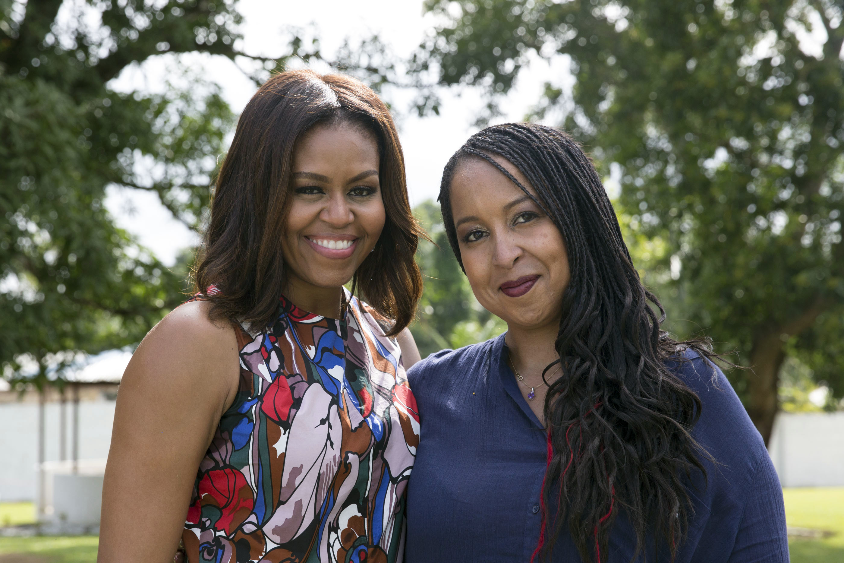 How a trip to Liberia with First Lady Michelle Obama changed what I post on social media