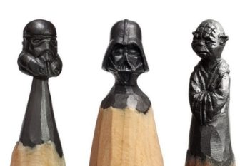 This artist creates the the most intricate sculptures out of pencil tips