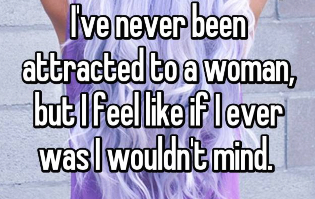 14 confessions from people who identify as heteroflexible
