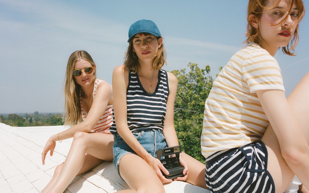 The new Gia Coppola and Everlane collection completely embodies '70s California chic
