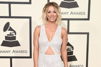 Kaley Cuoco is bringing this '90s preppy hair accessory back, and we're low-key obsessed